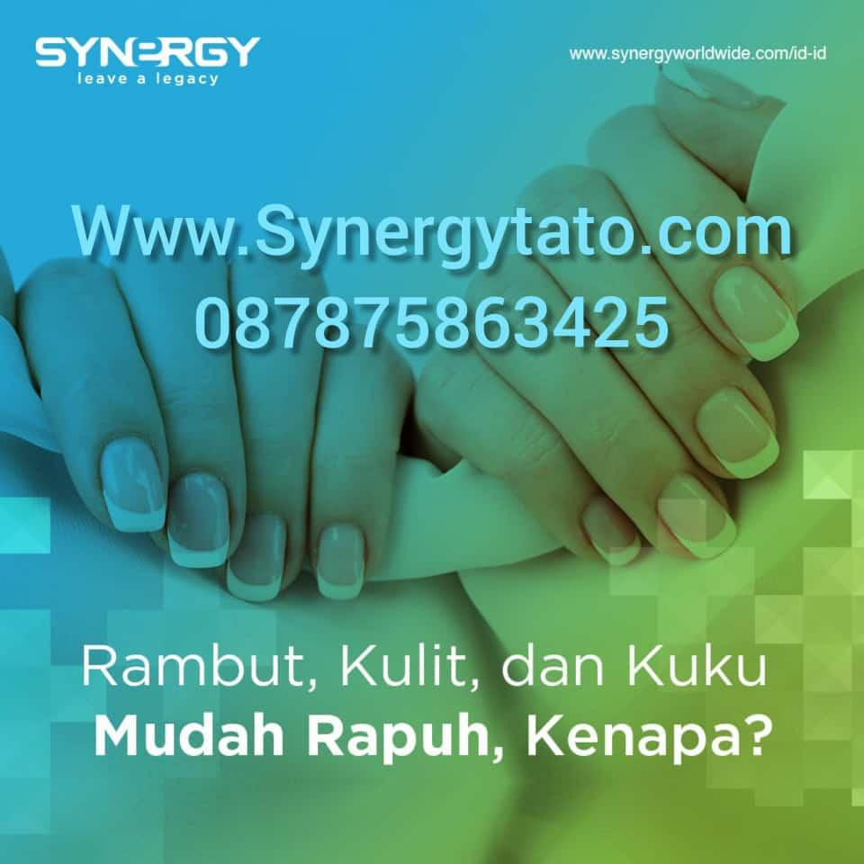 Maxpro Synergy untuk Kesehatan Kuku Rambut dan Kulit Synergytato