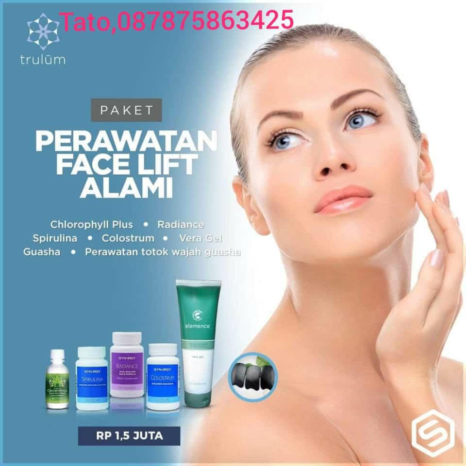 Perawatan Face Lift Alami Synergytato 087875863425